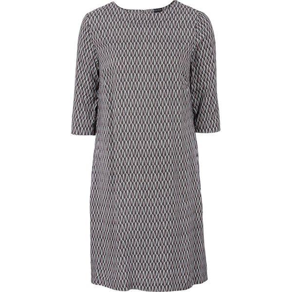 220544e16d Sukienka z wiskozy bonprix jasnoróżowy z graficznym nadrukiem ...